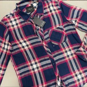 "Rails ""Hunter"" twill woven plaid shirt - Brand new"